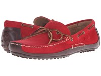Polo Ralph Lauren Wyndings Tan Rl Red Smooth Oil Leather Sport Suede Men's Shoes