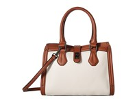 Calvin Klein Laiken Pebble Satchel White Luggage Satchel Handbags