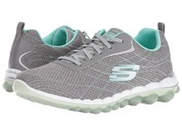Skechers Skech Air 2.0 Modern Edge Gray Mint Women's Shoes