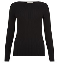 Hobbs Fern Sweater Black