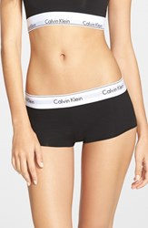 Women's Calvin Klein 'Modern Cotton' Boyshorts Black