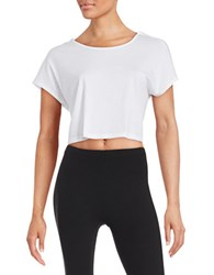 Bench Crossback Crop Top White