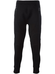 Neil Barrett Low Rise Skinny Fit Track Pants Black