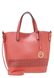 Anna Field Tote Bag Rose Black