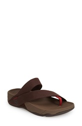 Fitflop 'Sling' Thong Sandal Men Chocolate
