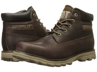 Caterpillar Founder Dark Brown Men's Lace Up Boots