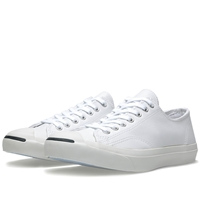 Converse Jack Purcell Leather Ox White And Navy