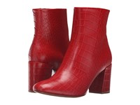 Paul Smith Sinah Lux Cocco Boot Red