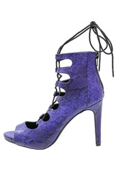 Evenandodd High Heeled Sandals Blue