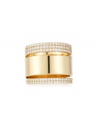 Lana Vanity Expose 14K Gold And Diamond Ring