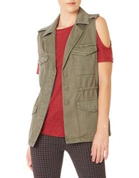 Sanctuary Sleeveless Military Vest