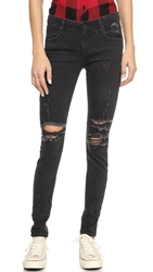 Rta Skinny Jeans Exploded Black
