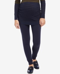 Motherhood Maternity Skinny Pants Navy