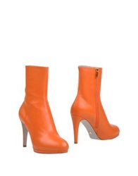 Sergio Rossi Ankle Boots Maroon