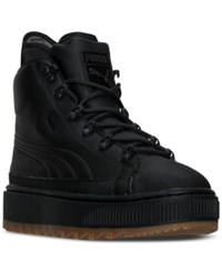 Puma Men's The Ren High Top Boots From Finish Line Puma Black