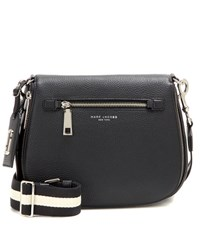 Marc Jacobs Gotham Leather Crossbody Bag Black