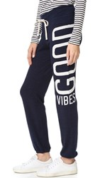 Sundry Good Vibes Sweatpants Navy