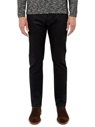Ted Baker T For Tall Samtt Rinse Wash Straight Jeans Black