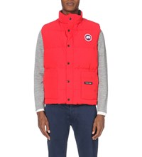 Canada Goose Freestyle Quilted Shell Gilet Red