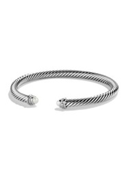 David Yurman Cable Classics Bracelet With Pearls And Diamonds Silver