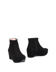 Andrea Bernes Ankle Boots Dark Brown