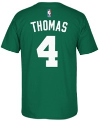 Adidas Men's Isaiah Thomas Boston Celtics T Shirt Green