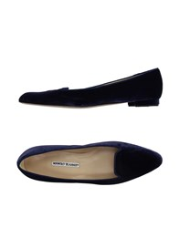 Manolo Blahnik Footwear Moccasins Women Dark Purple