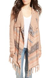 Rip Curl Women's Oakwood Fringe Trim Cardigan