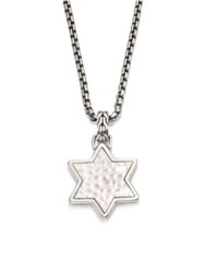 John Hardy Classic Chain Collection Star Pendant Necklace No Color