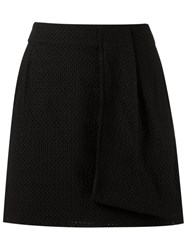 Giuliana Romanno Side Pocket Skorts Black