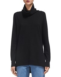 Whistles Cashmere Cowlneck Sweater Black