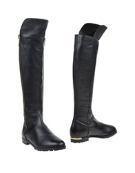 The Seller Boots Black
