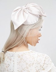 Asos Occasion Fascinator Headband Cream