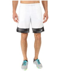 Nike Strike Printed Graphic Woven 2 Soccer Short White Men's Shorts