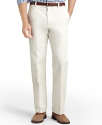Izod American Straight Fit Flat Front Wrinkle Free Chino Pants