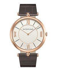 Pierre Arpels Pink Gold Watch 42Mm Van Cleef And Arpels Pink Gold
