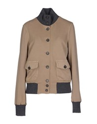 Capobianco Coats And Jackets Jackets Women Camel