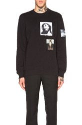 Givenchy Patch Graphic Pullover Sweatshirt In Black