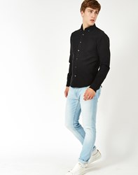 Only And Sons Sebastian Oxford Shirt Black