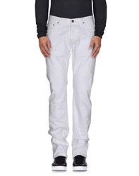 Gant Denim Denim Trousers Men White