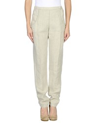 Massimo Alba Trousers Casual Trousers Women Light Green