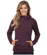 Columbia Darling Days Pullover Hoodie Dusty Purple Heather Women's Sweatshirt