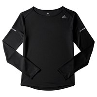 Adidas Sequencials Climalite Long Sleeve Running Top Black