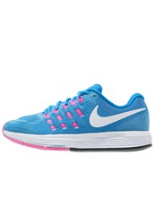 Nike Performance Air Zoom Vomero 11 Neutral Running Shoes Blue Glow White Pink Blast Photo Blue Glacier Blue