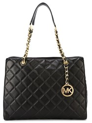 Michael Michael Kors Quilted Tote Black
