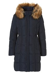 Betty Barclay Quilted Coat Deep Navy
