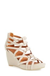 Women's L'amour Des Pieds'ivanna' Gladiator Wedge Sandal 3 1 2' Heel