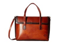 Patricia Nash Asti Flap Satchel Tan Satchel Handbags