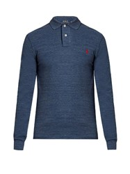 Polo Ralph Lauren Long Sleeved Cotton Shirt Blue