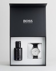 Boss By Hugo Watch And Fragrance Gift Set Multi